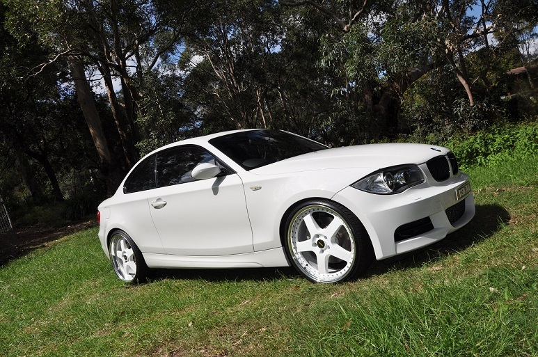 2008 White BMW 135i  picture, mods, upgrades