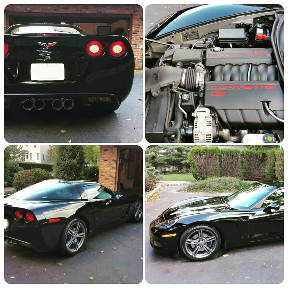 Black 2008 Chevrolet Corvette LS3 Auto