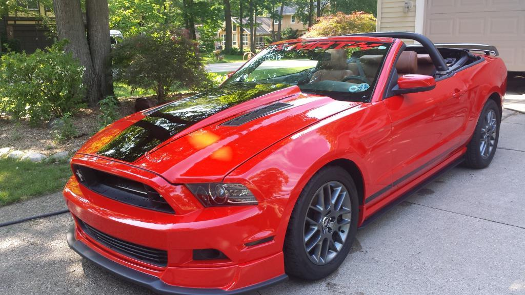 2013 Ford Mustang MCA convertible 1/4 mile Drag Racing trap speed 0-60