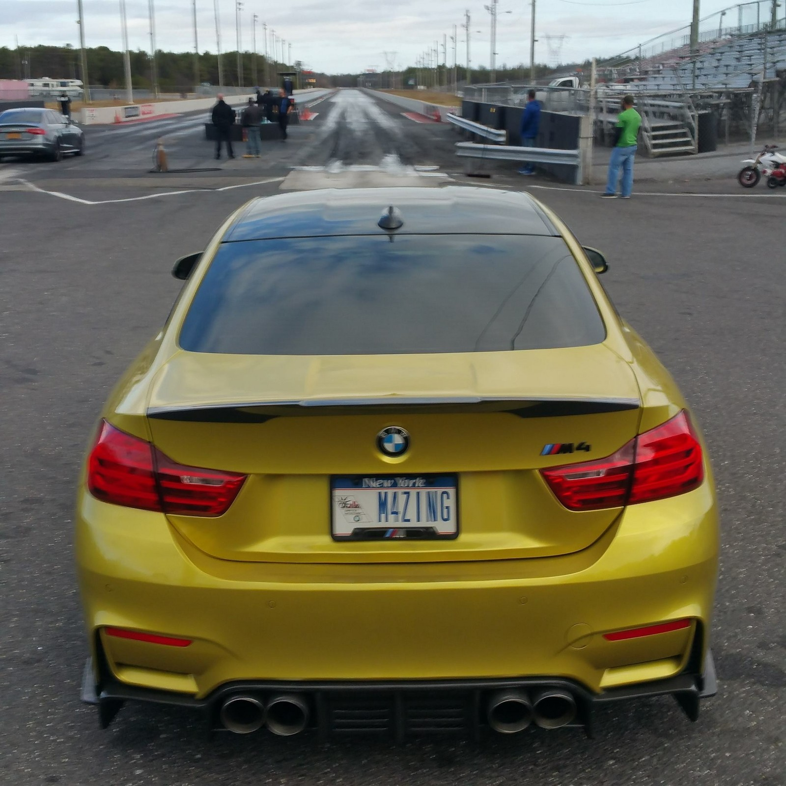 2015 Austin Yellow BMW M4  picture, mods, upgrades