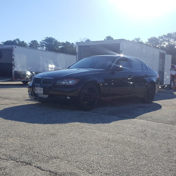 Black 2008 BMW 335xi