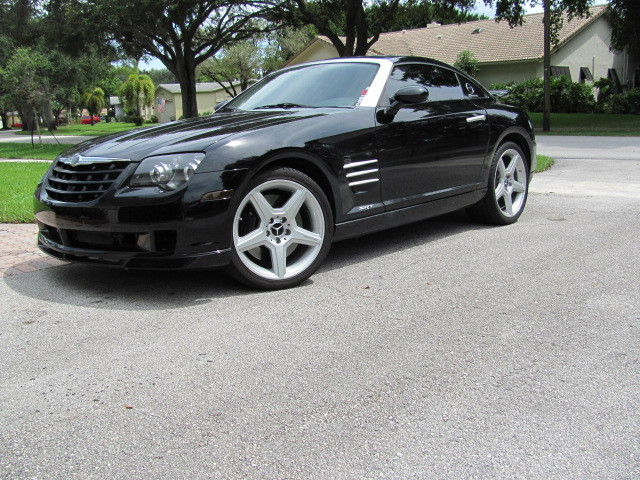 black 2005 Chrysler Crossfire srt