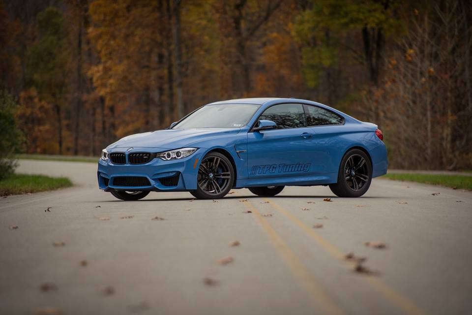Yaz Blue 2015 BMW M4