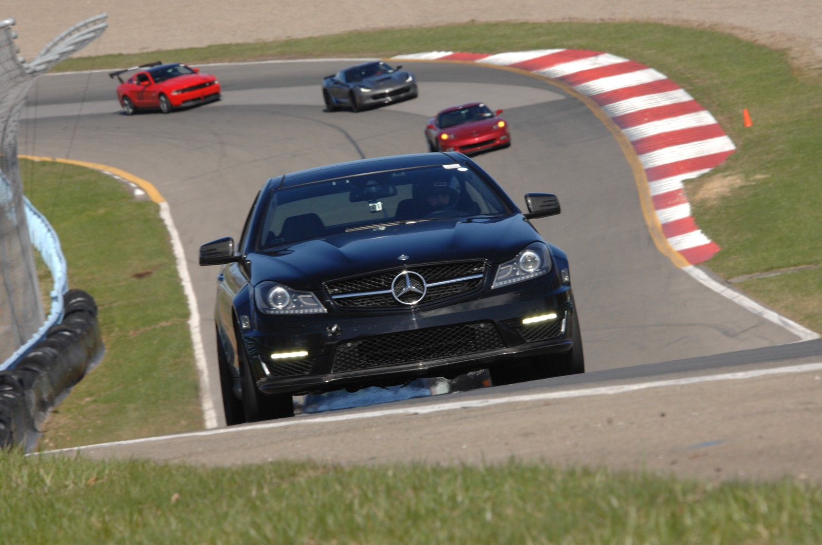 2012 Mercedes Benz C63 AMG P31 Coupe 1 4 mile trap speeds