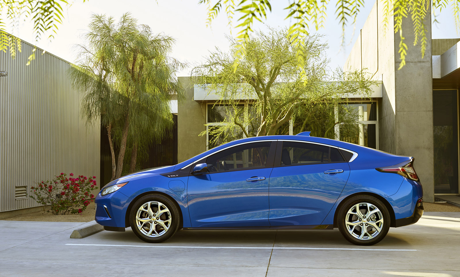 Metallic Blue 2016 Chevrolet Volt