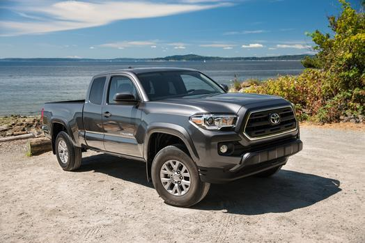 2016 Grey Black Toyota Tacoma Picture Mods Upgrades