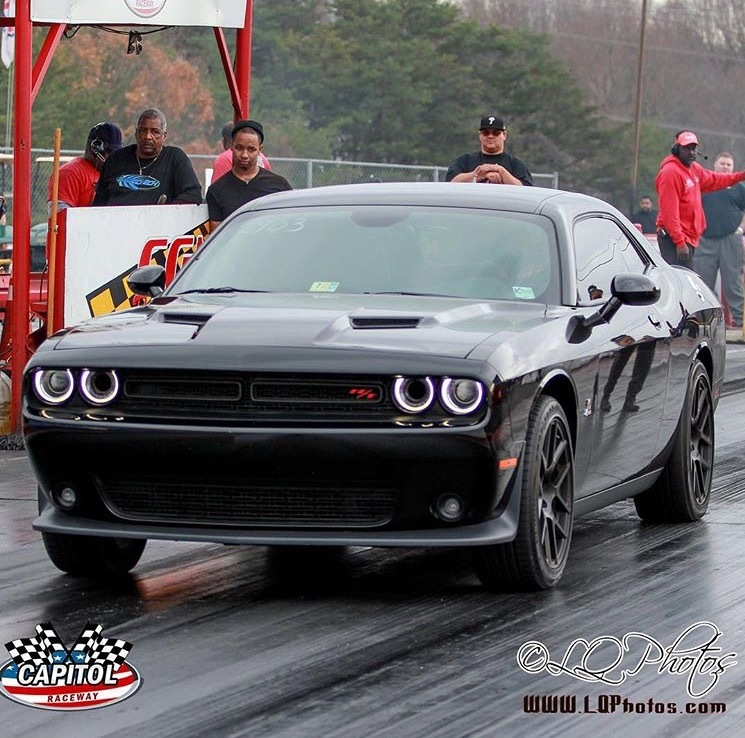 Pitch black  2015 Dodge Challenger Scat Pack