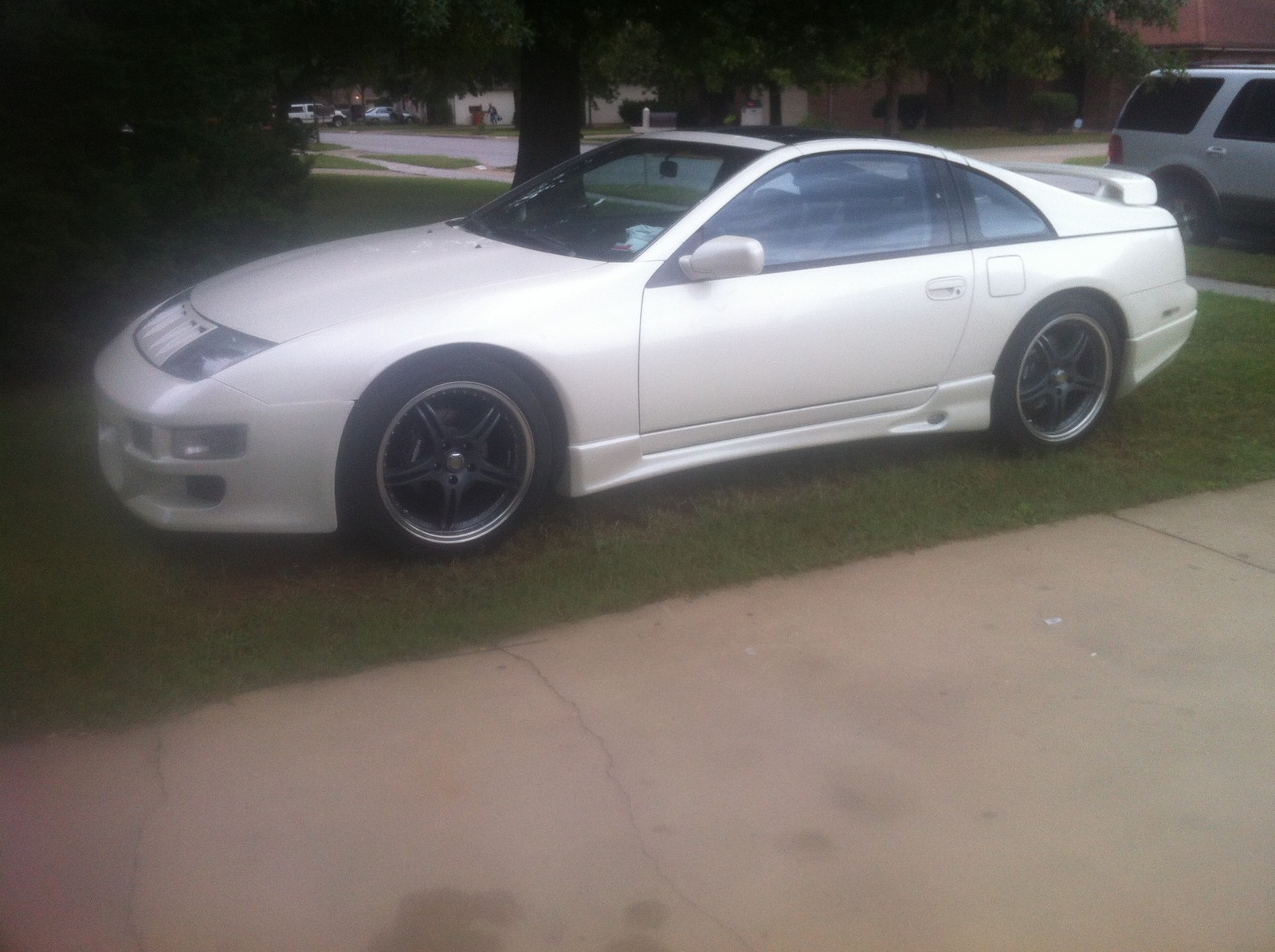 Pearl white (kh6) 1991 Nissan 300ZX