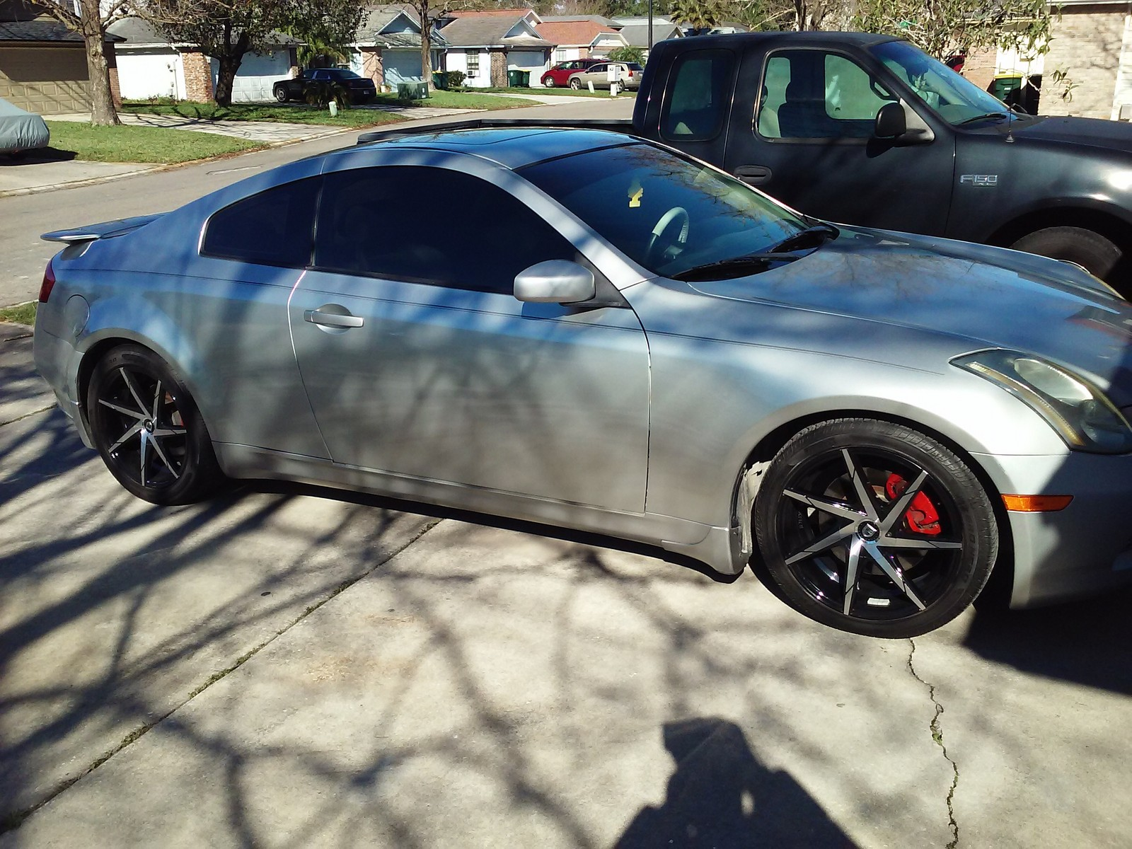 Silver 2005 Infiniti G35 Coupe 5at