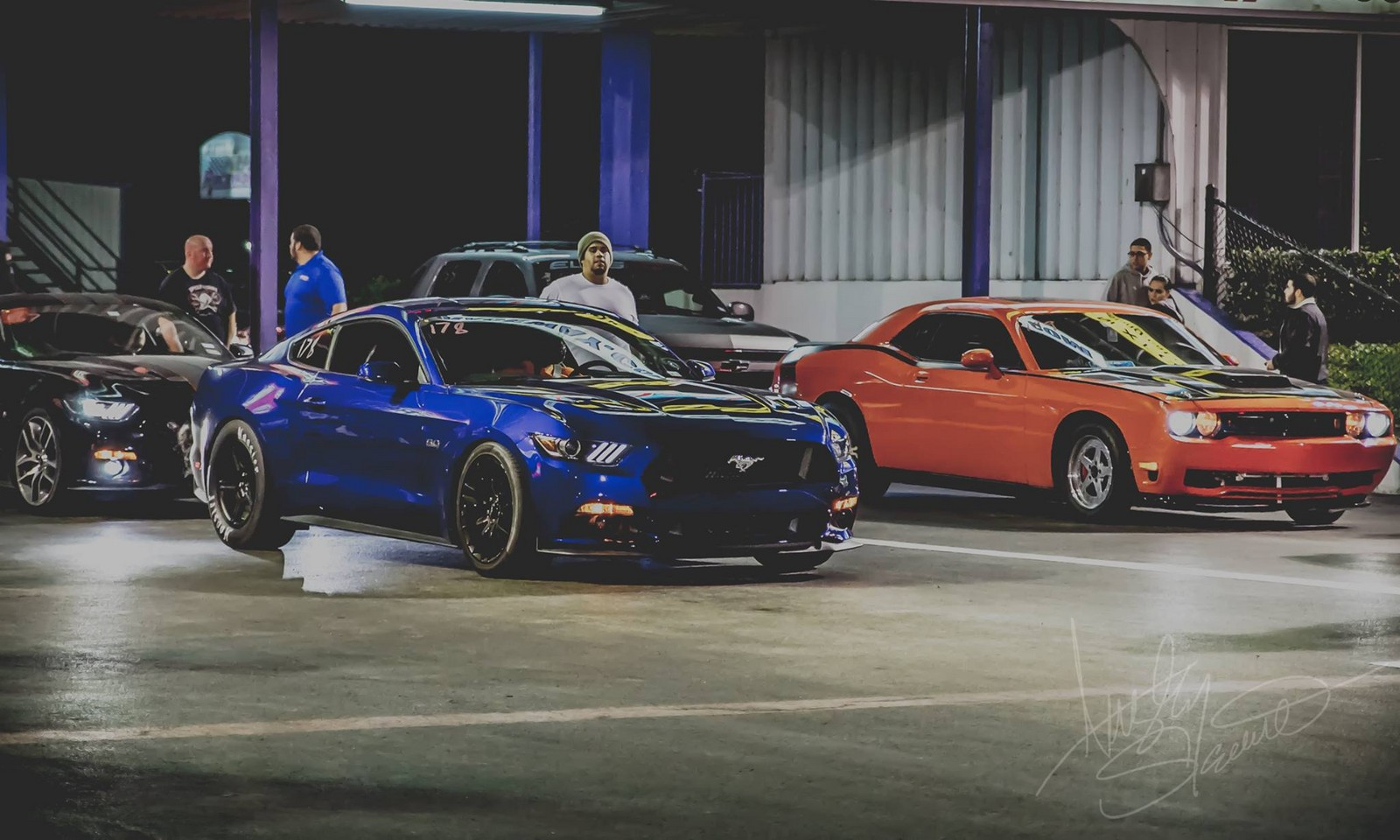 2015 Deep Impact Blue Ford Mustang GT picture, mods, upgrades
