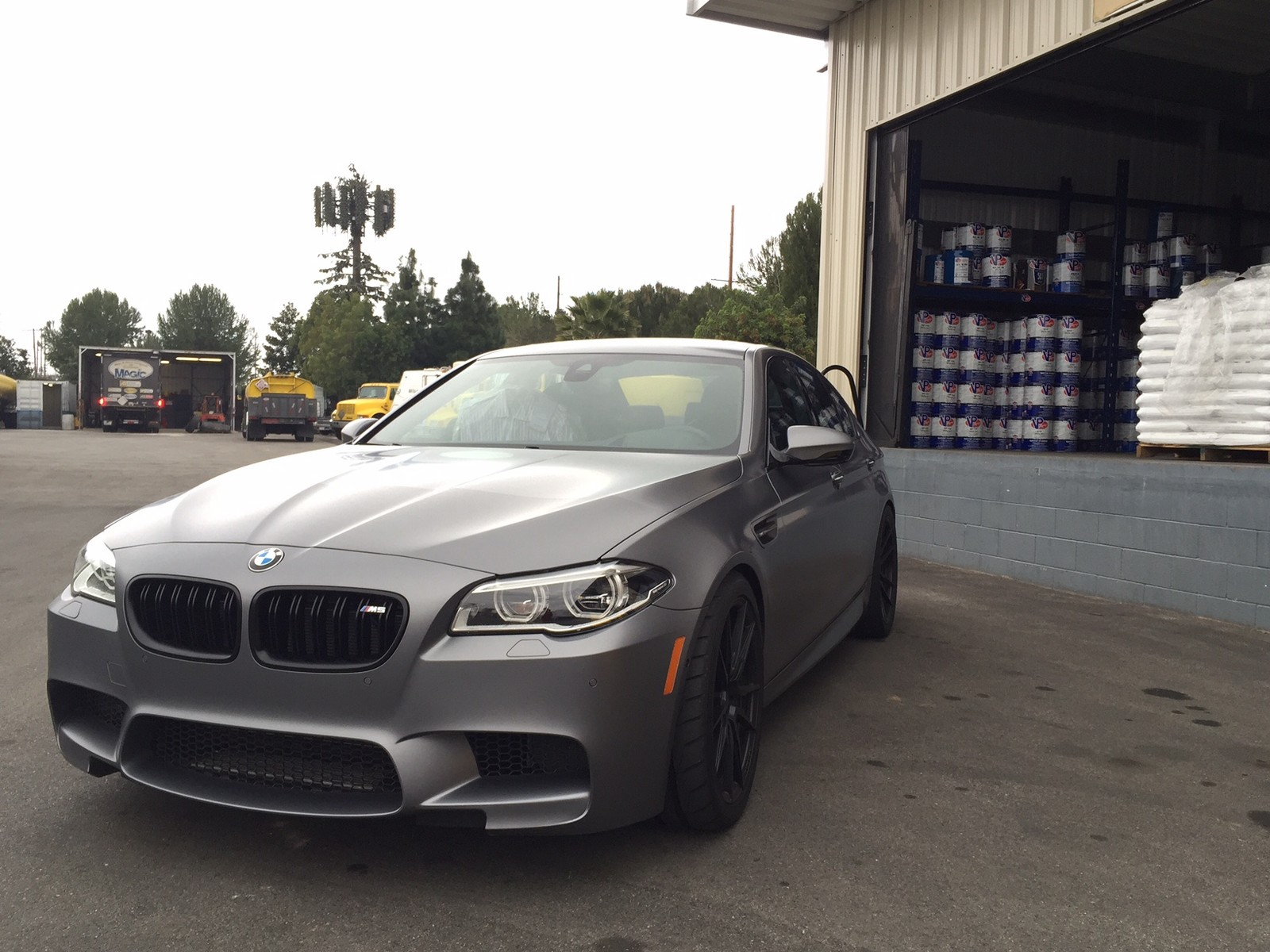 Frozen Grey 2014 BMW M5