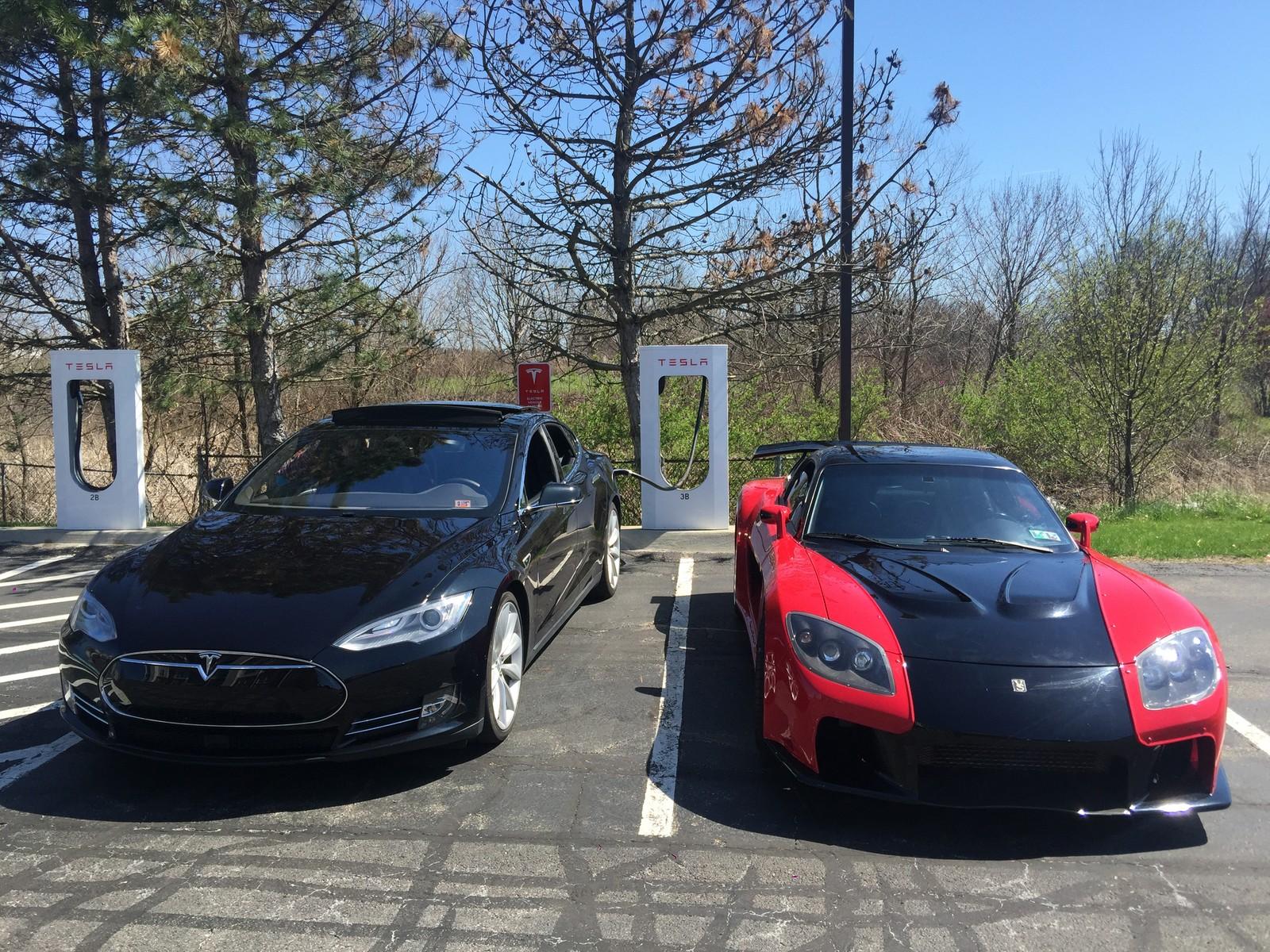 Tesla p90d 1/4 mile