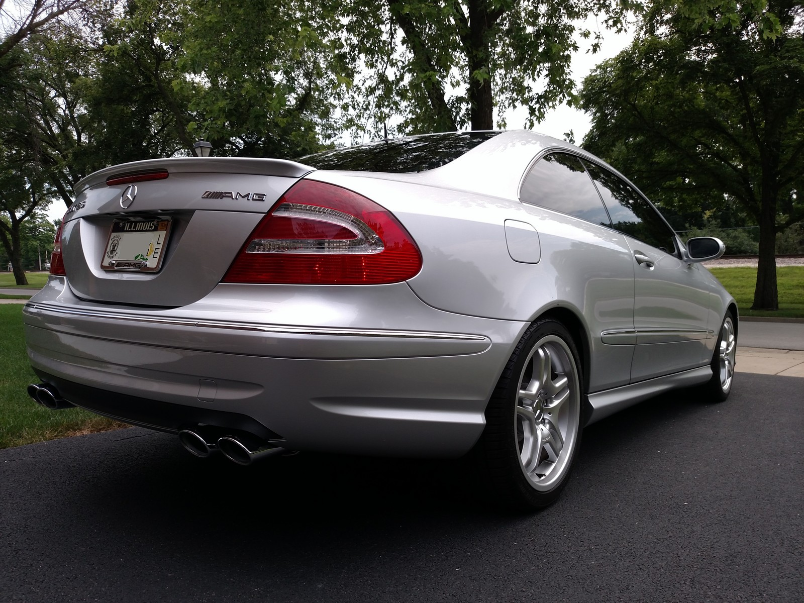Mercedes Extended Warranty >> 2005 Mercedes-Benz CLK55 AMG Coupe 1/4 mile trap speeds 0 ...