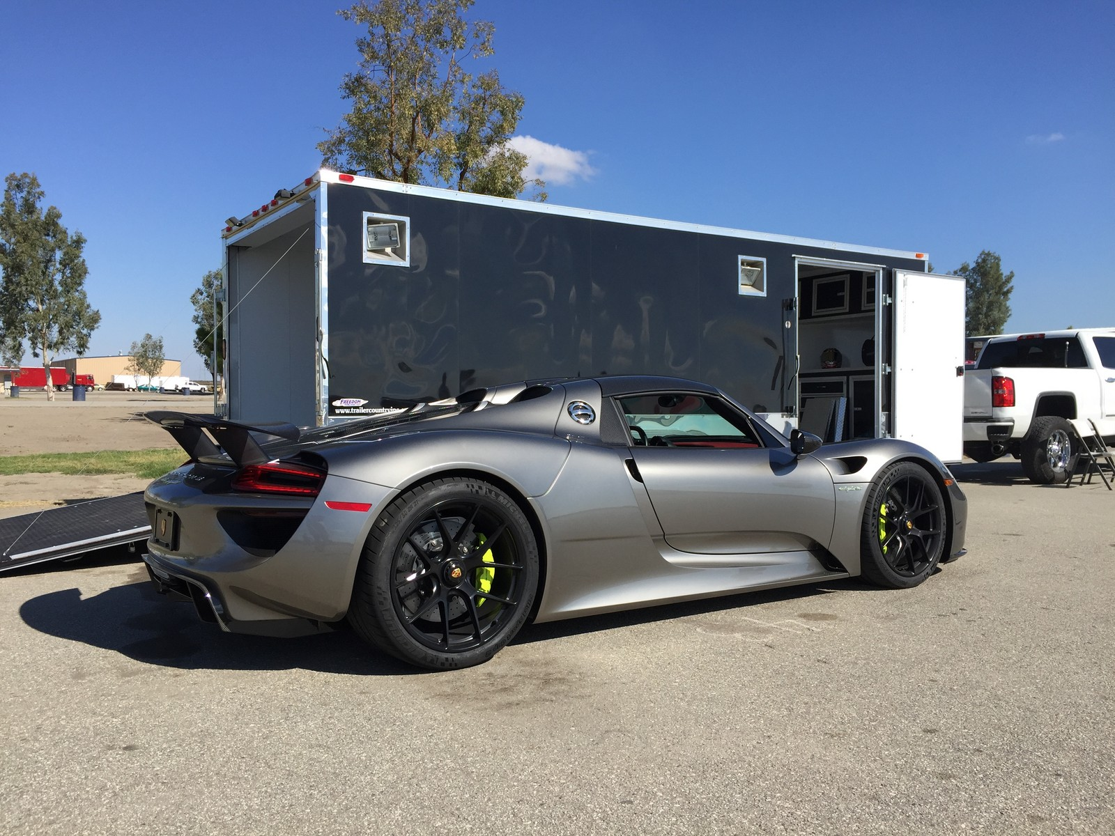 stock 2015 porsche 918 spyder 1 4 mile drag racing timeslip specs 0 60 drag. Black Bedroom Furniture Sets. Home Design Ideas