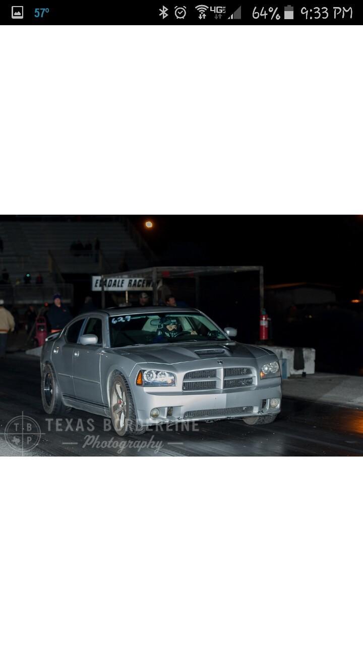 2006 Dodge Charger Srt8 1 4 Mile Drag Racing Timeslip