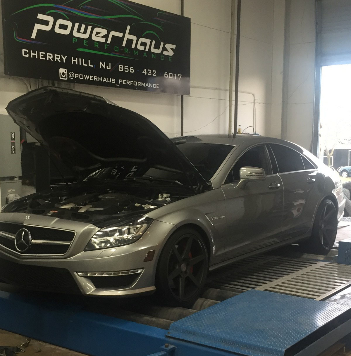 Grey 2012 Mercedes-Benz CLS63 AMG