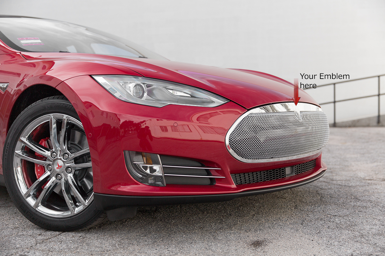 red 2014 Tesla Model S P85DL