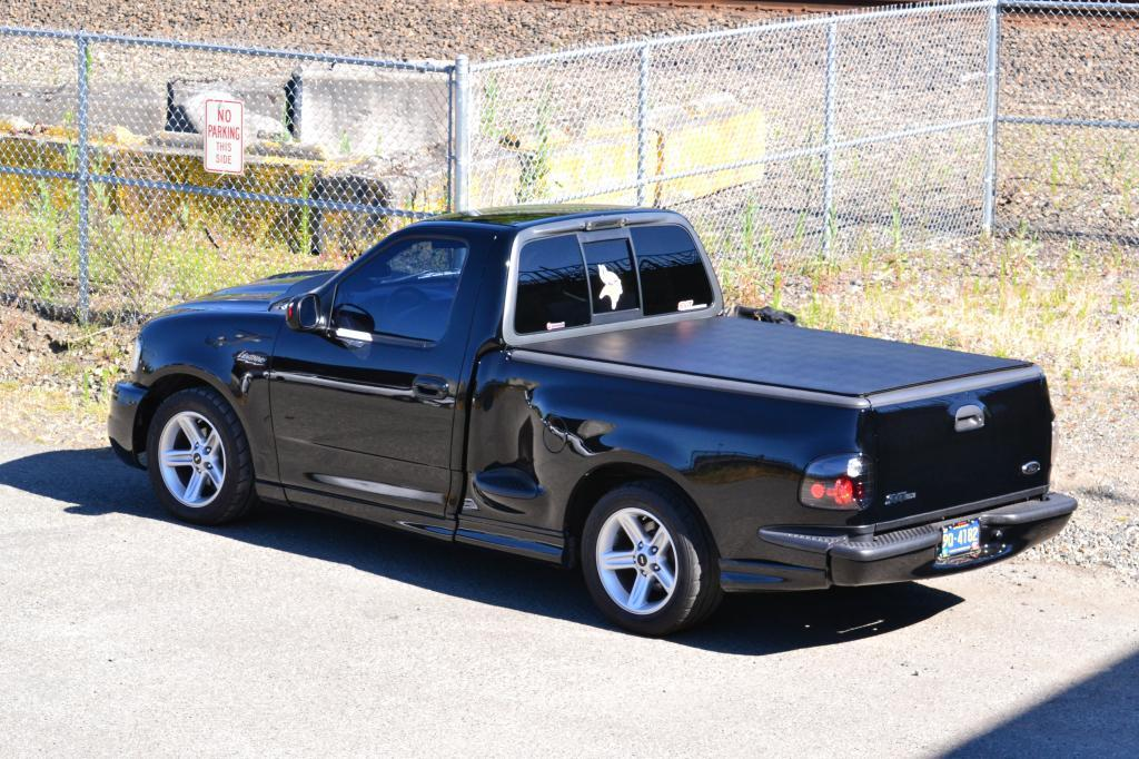 Black 2001 Ford F150 SVT