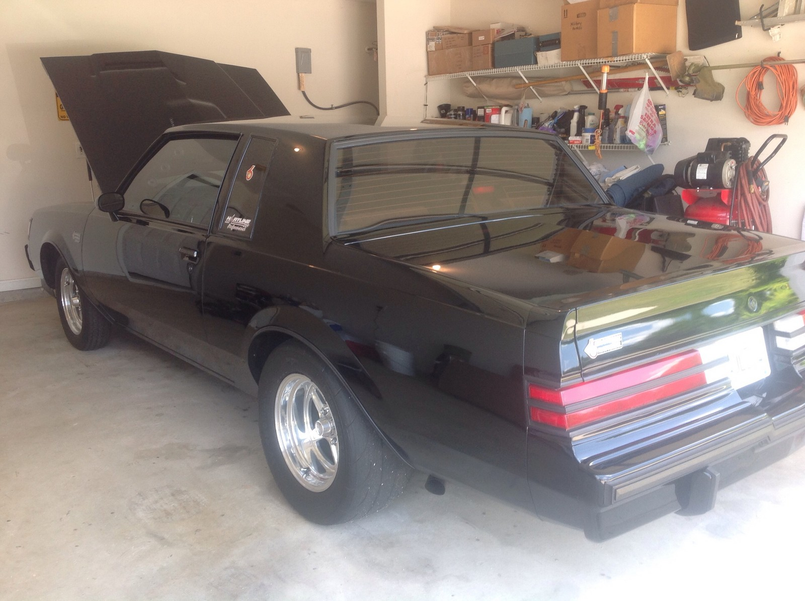 Black 1987 Buick Grand National