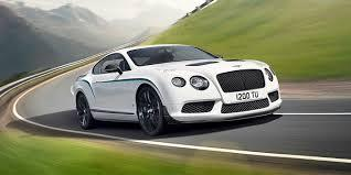 white 2015 Bentley Continental GT