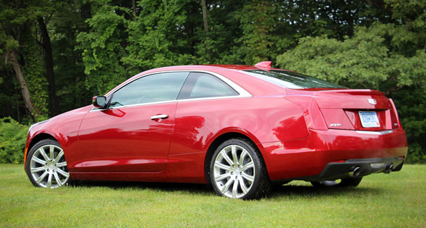 Cherry Red  2016 Cadillac ATS-V Coupe