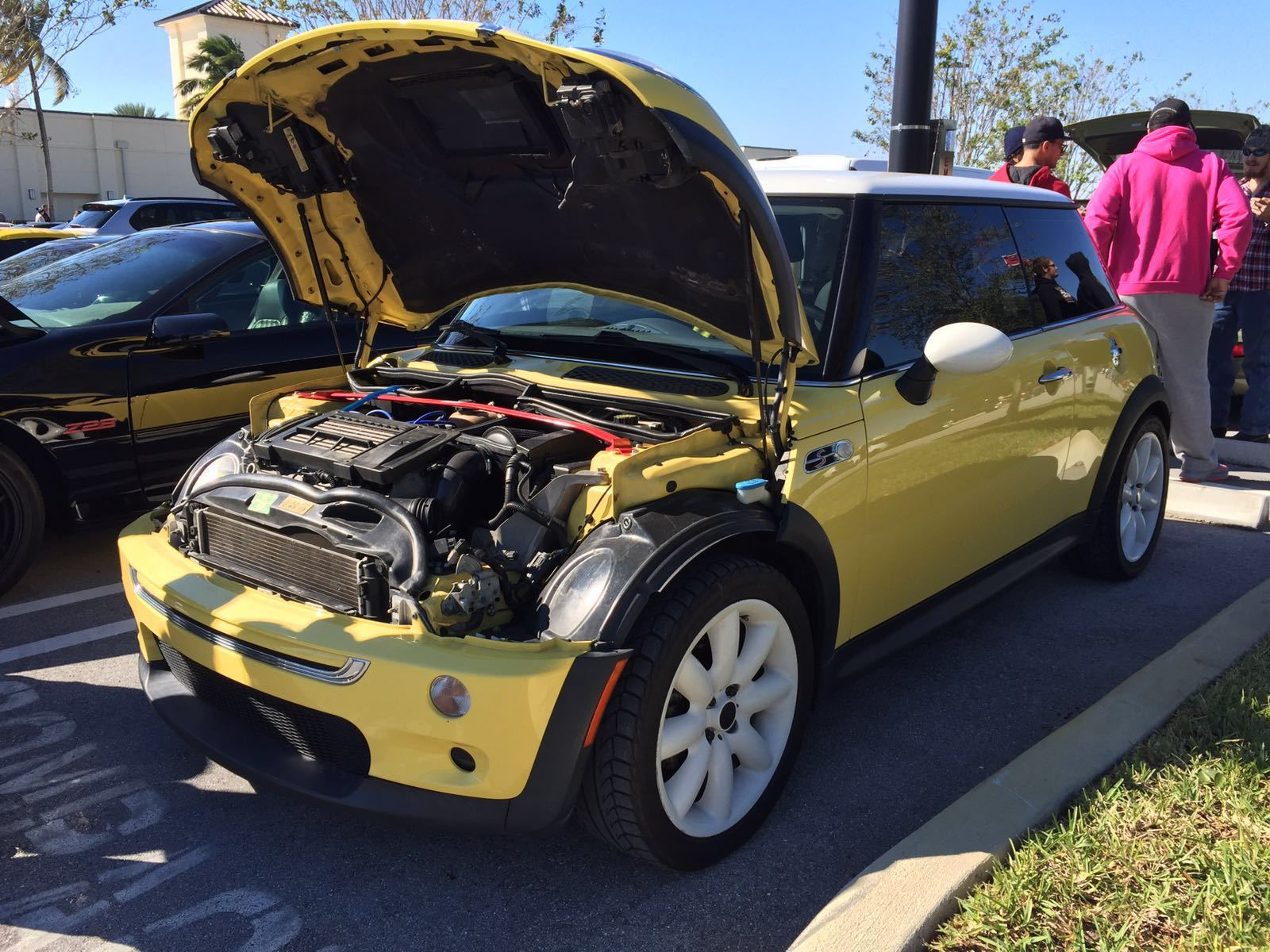 2003 Liquid Yellow Mini Cooper S Picture Mods Upgrades