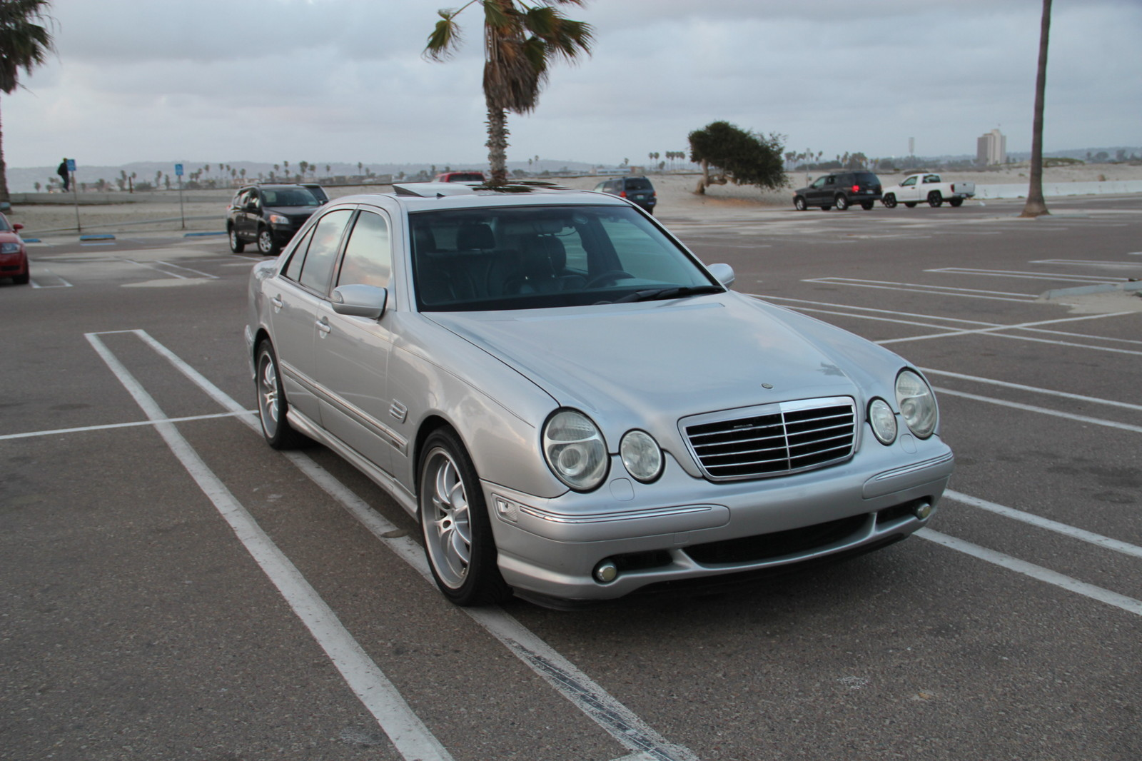 2000 mercedes benz e55 amg 1 4 mile drag racing timeslip for Mercedes benz e 55 amg