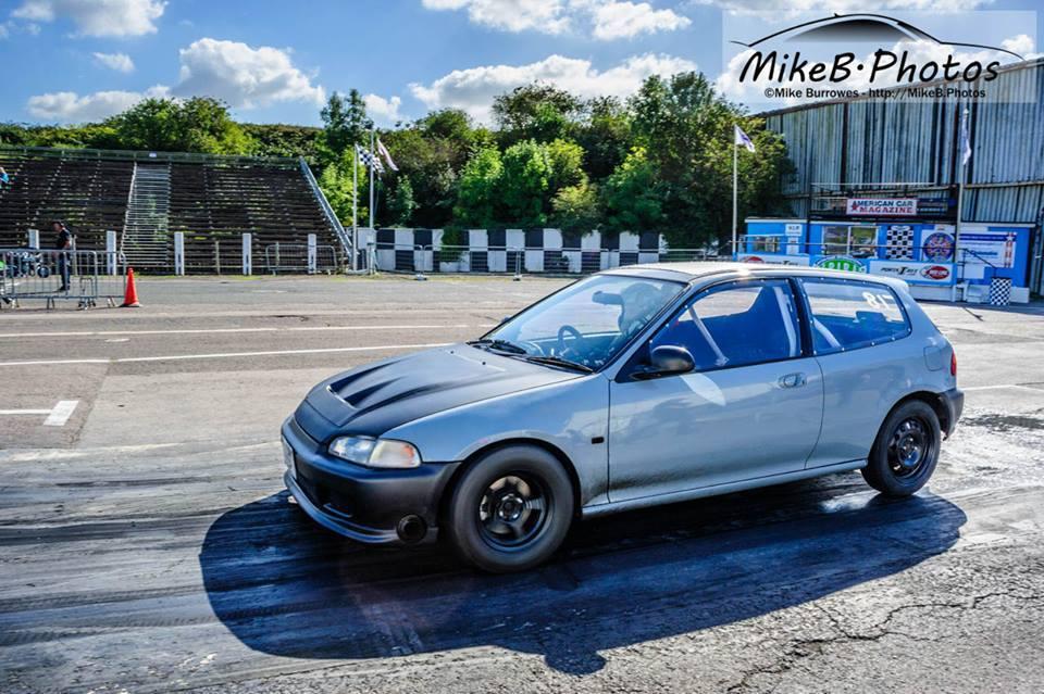 1994 Honda Civic lsi 14 mile Drag Racing timeslip specs 060