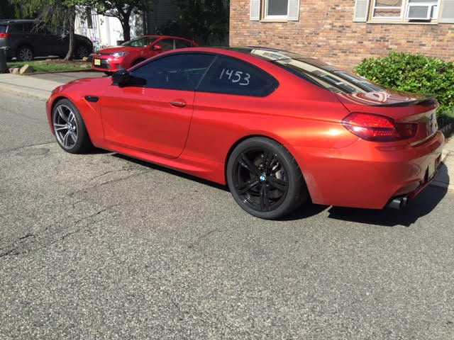 2013 BMW M6 Coupe 14 mile Drag Racing timeslip specs 060