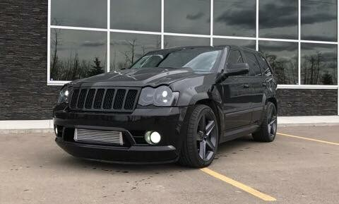 Black Jeep Srt8 2008