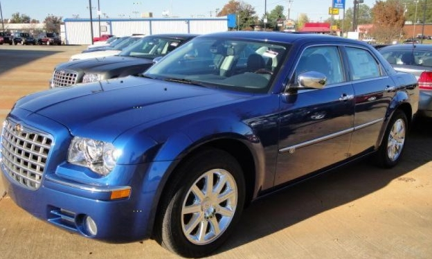 Blue 2009 Chrysler 300 C AWD