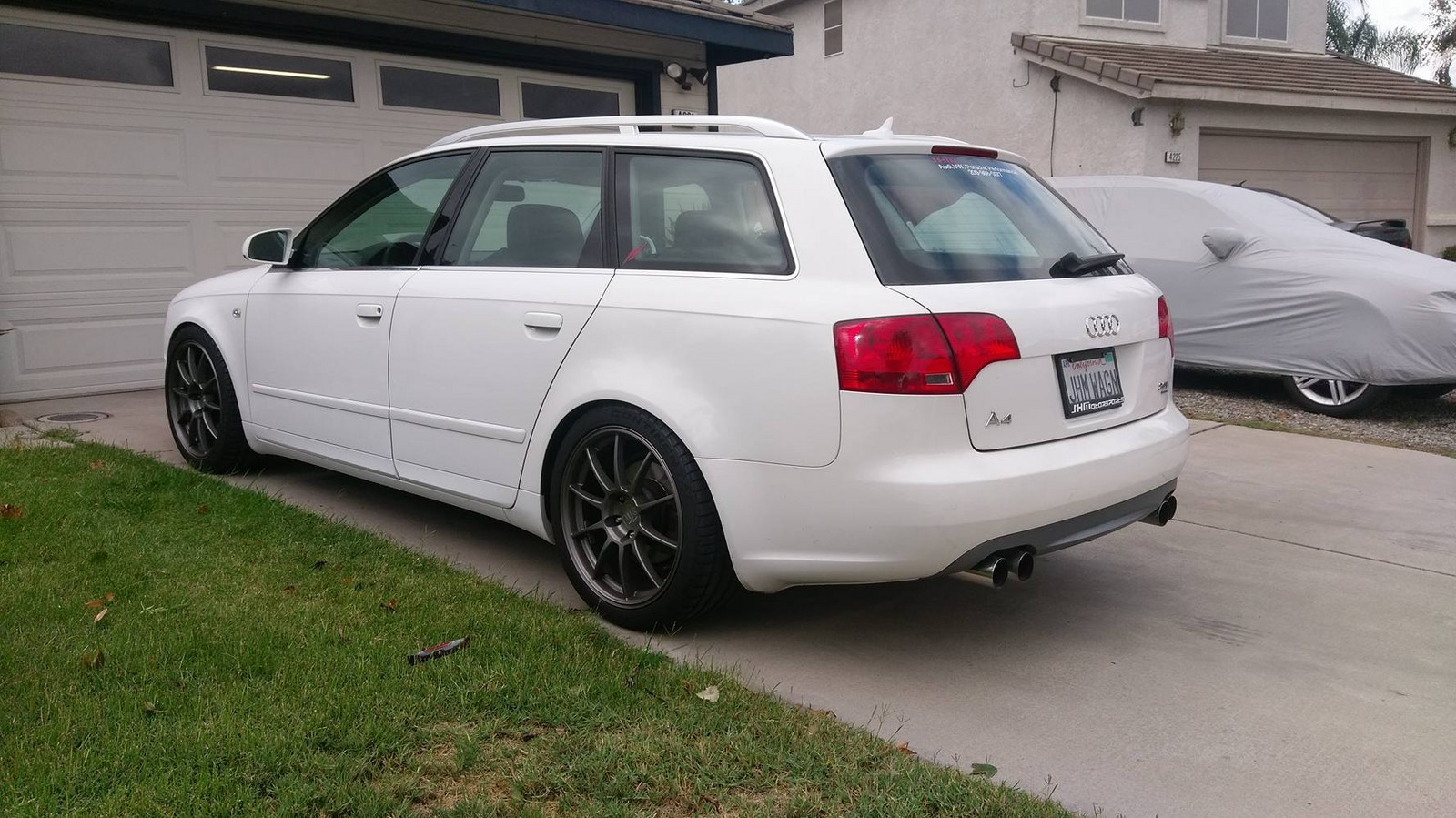 2007 Ibis White Audi A4 Avant picture, mods, upgrades
