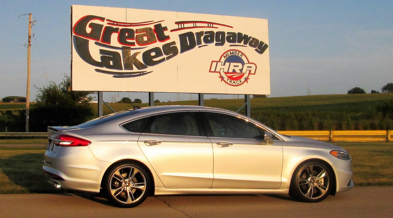 2017 Ford Fusion Sport 1 4 Mile Drag Racing Timeslip Specs 0 60