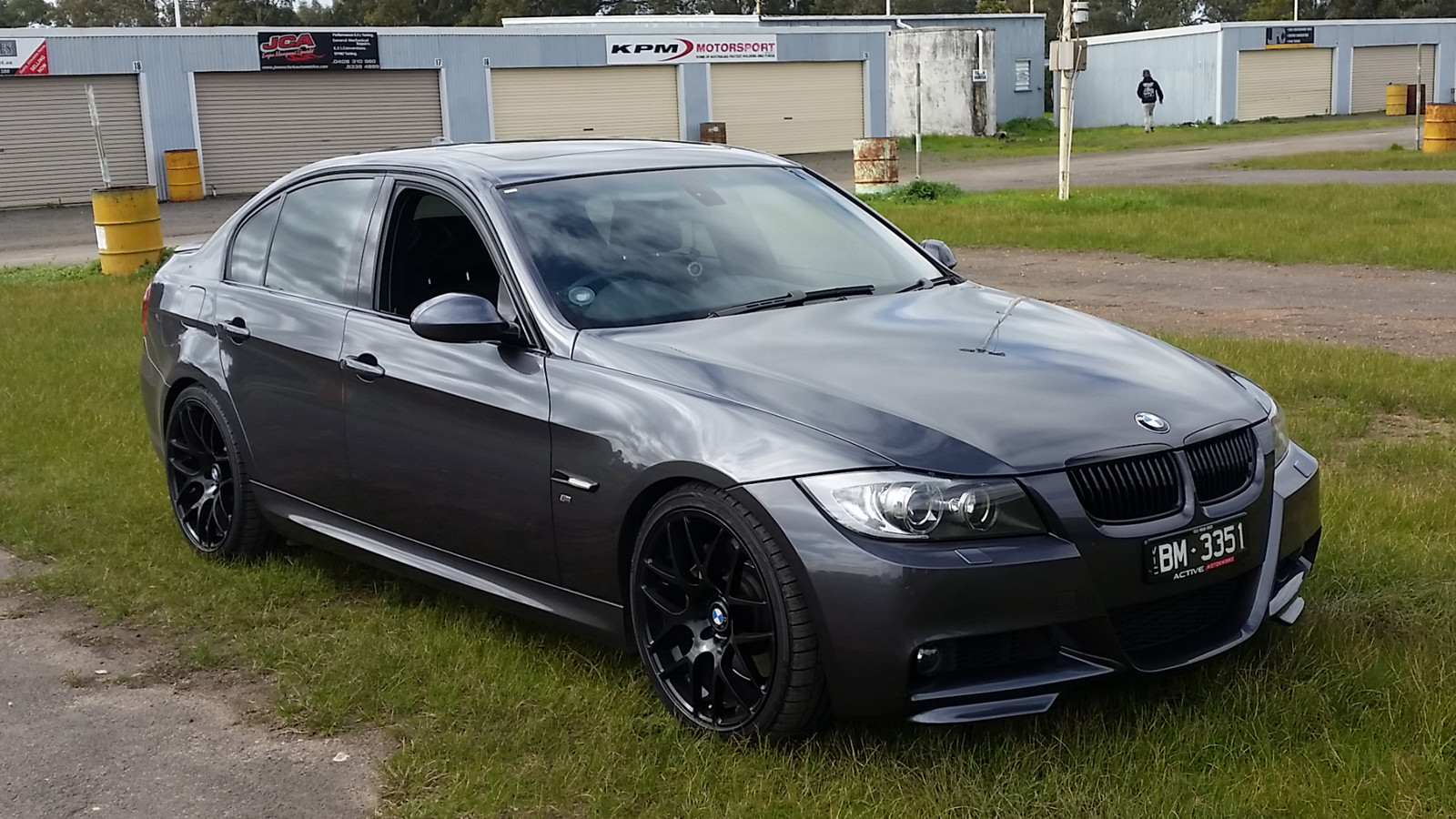 Sparkling Graphite 2007 Bmw 335i E90 Sedan