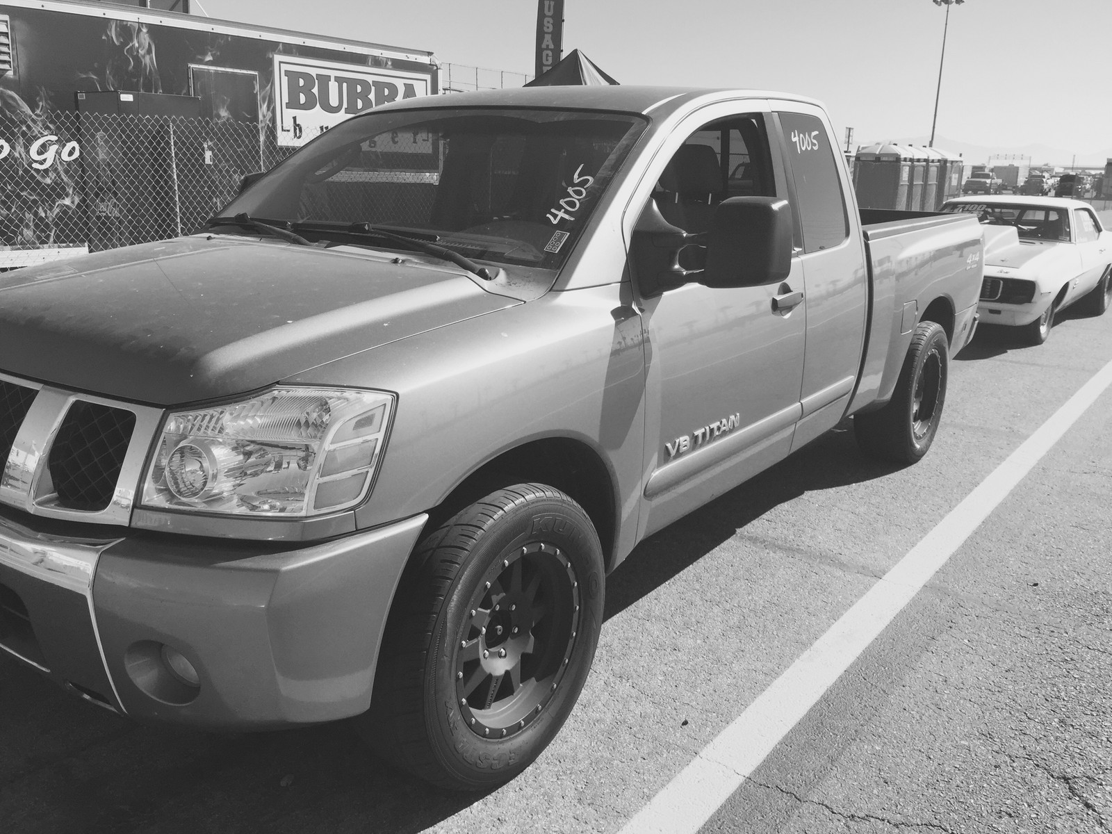 2006 Pewter Nissan Titan 4x4 Pictures Mods Upgrades Wallpaper Dragtimes Com