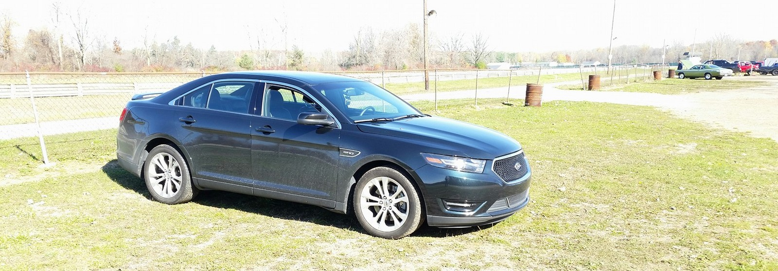 2014 Ford Taurus SHO 1/4 mile Drag Racing timeslip specs 0