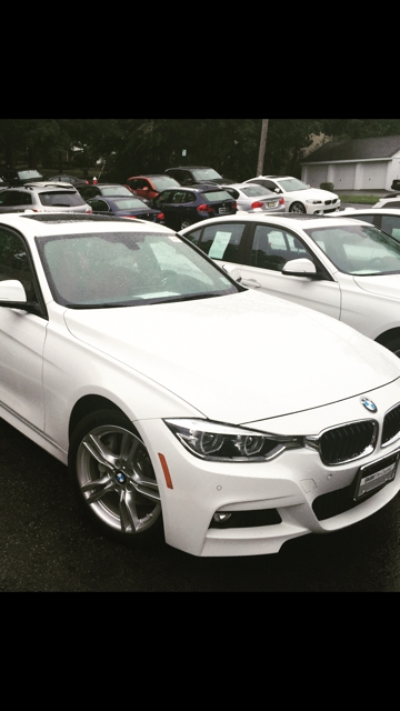Alpine White 2016 BMW 340i