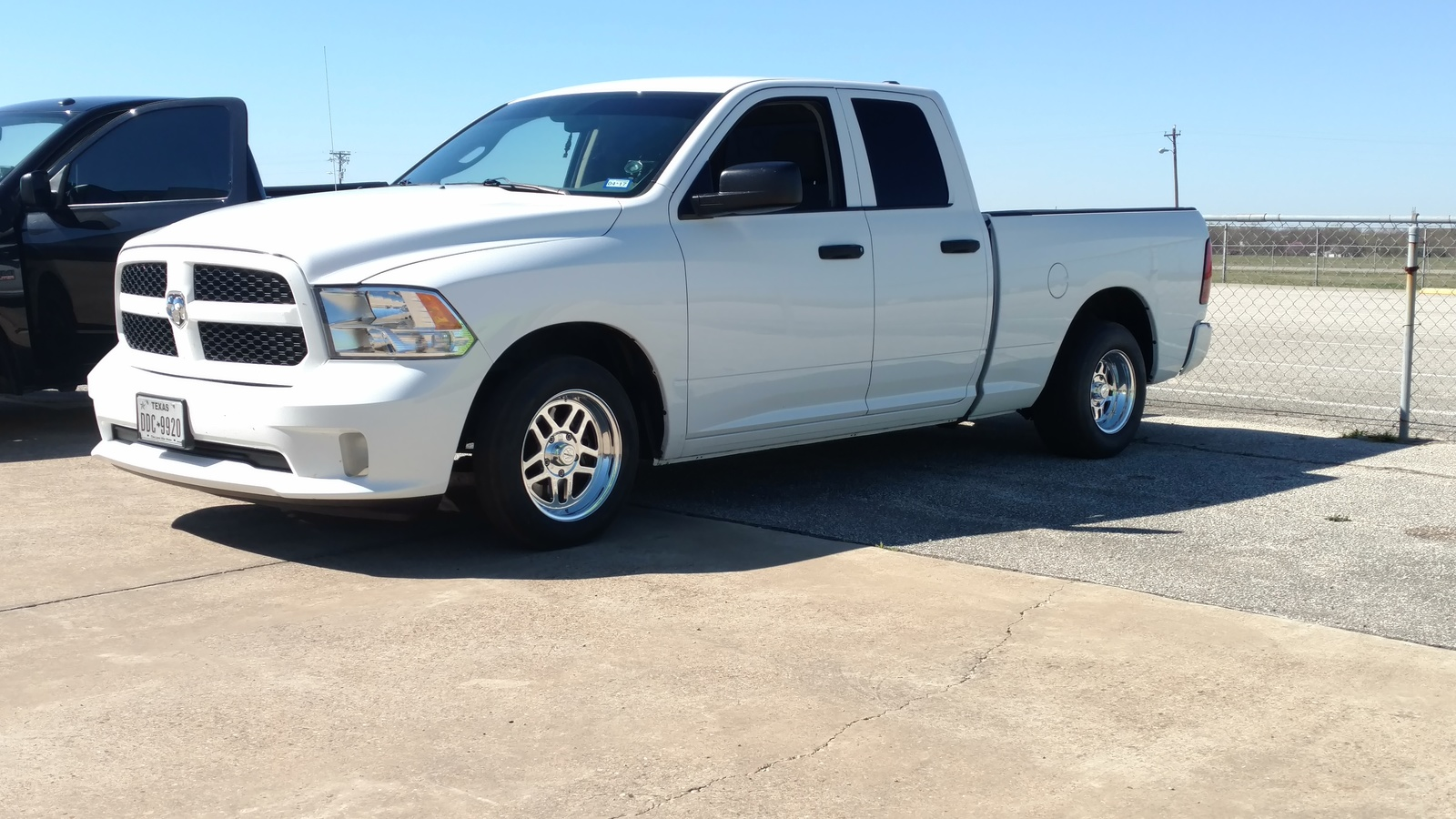 2014 White Dodge Ram 1500 Express picture, mods, upgrades