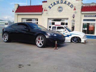 2013 Black Hyundai Genesis Coupe rspec picture, mods, upgrades