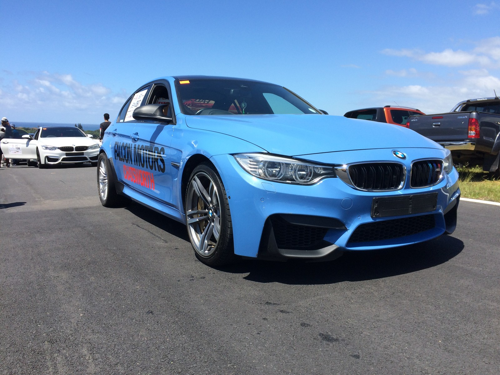 2015 Yas Marina BMW M3 F80 picture, mods, upgrades