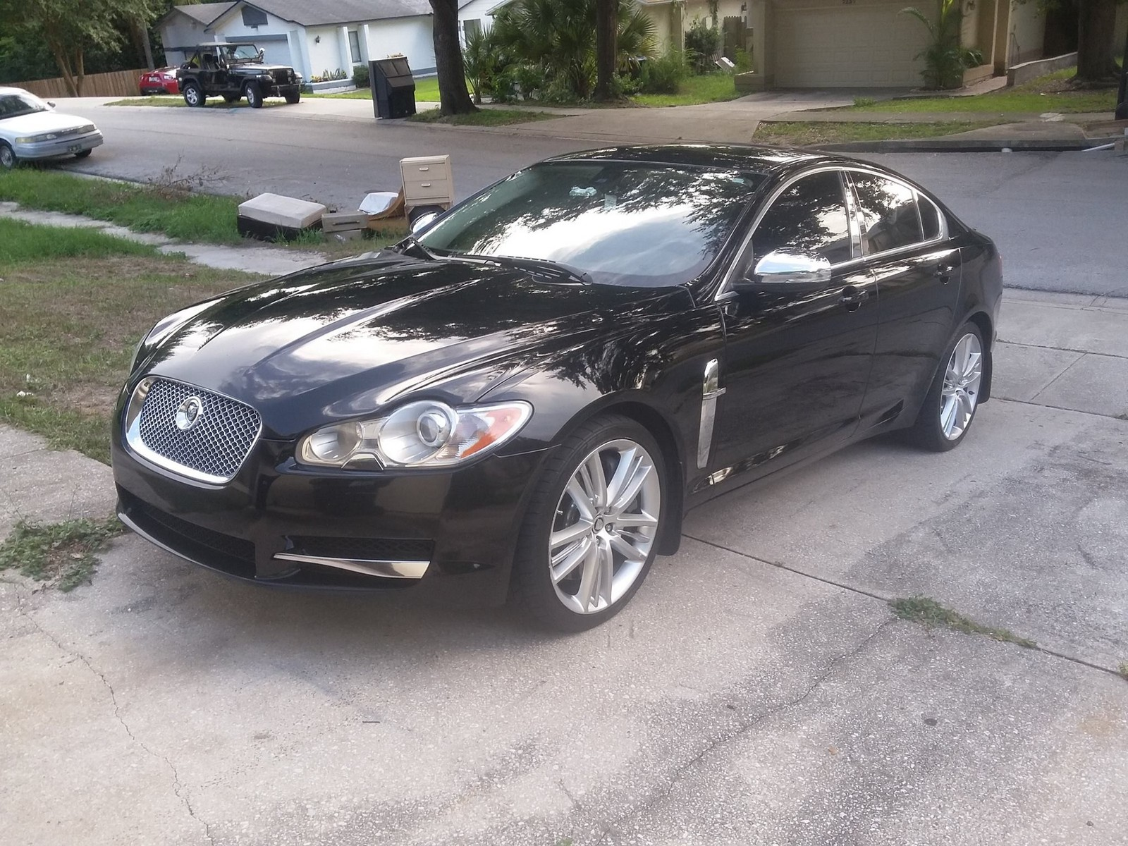 drive kendall sedan supercharged jaguar base xf self