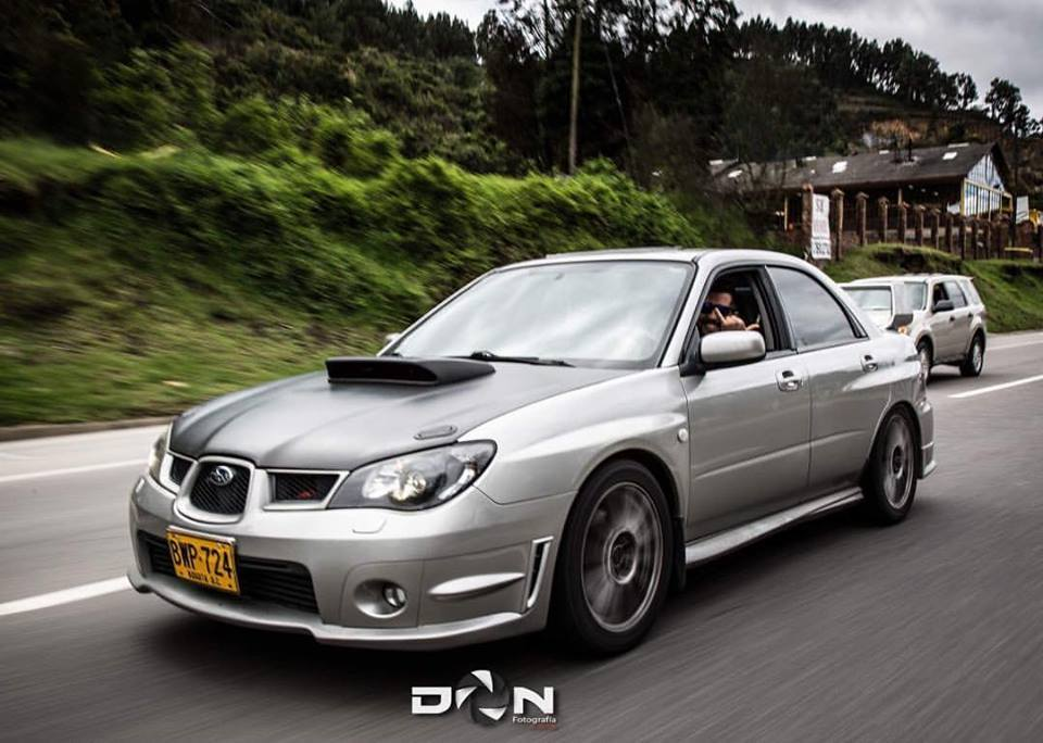 2006 Silver Subaru WRX  picture, mods, upgrades
