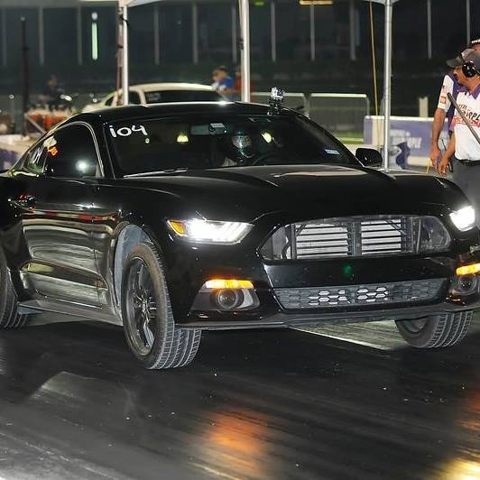 Black 2015 Ford Mustang Ecoboost
