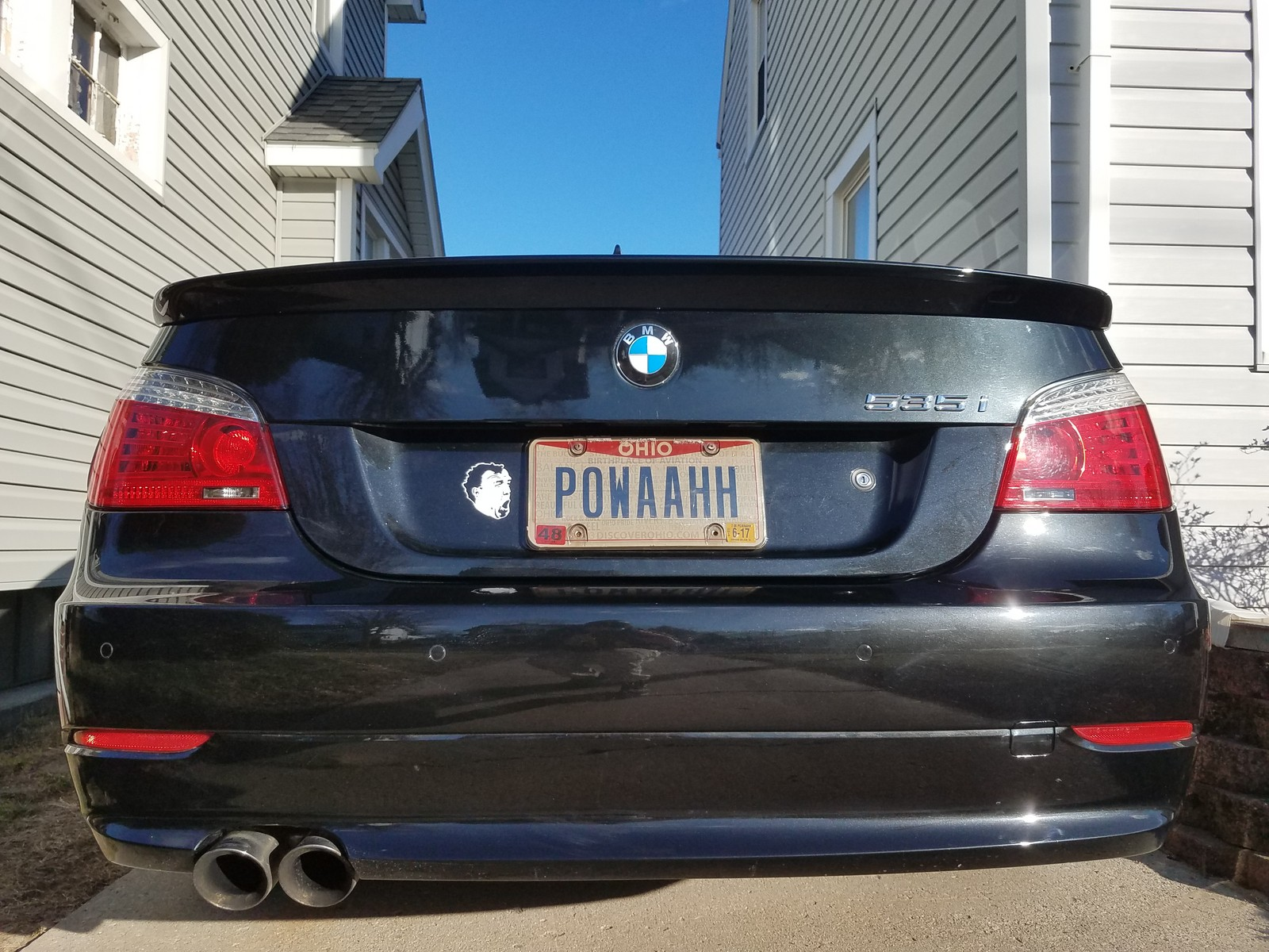 2009 Saphire Black BMW 535xi  picture, mods, upgrades