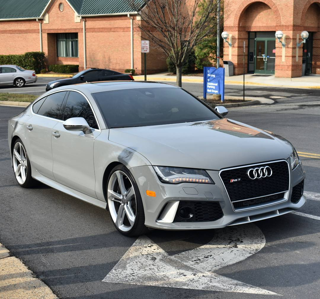 2014 Nardo Gray Audi RS-7  picture, mods, upgrades