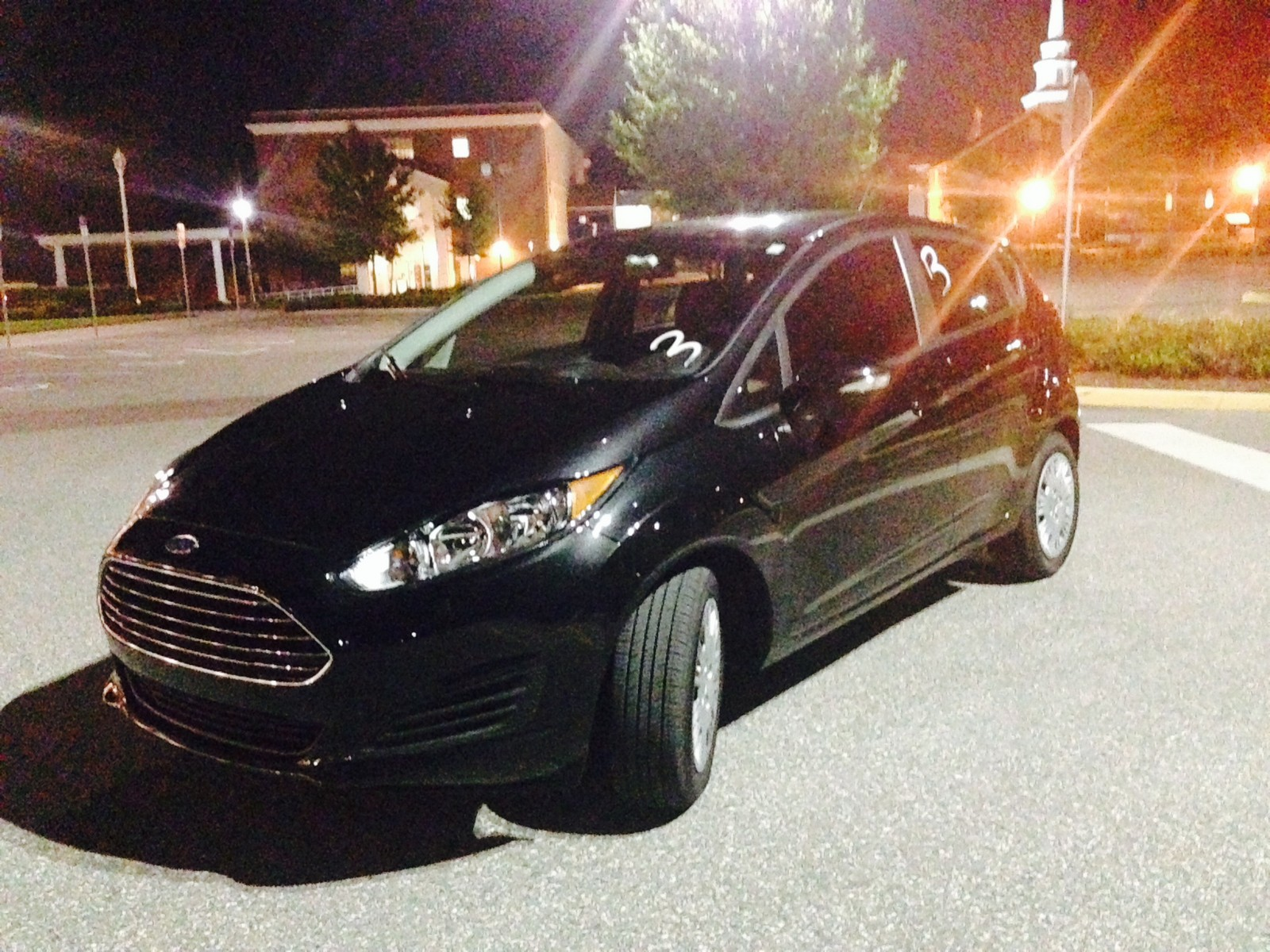Black 2014 Ford Fiesta SFE