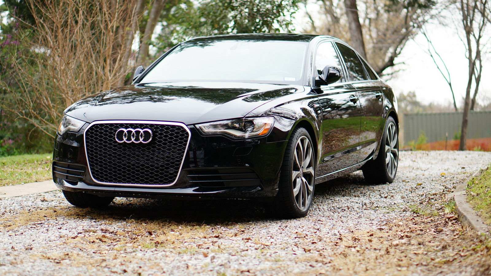 Brilliant Black 2013 Audi A6 3.0TFSI
