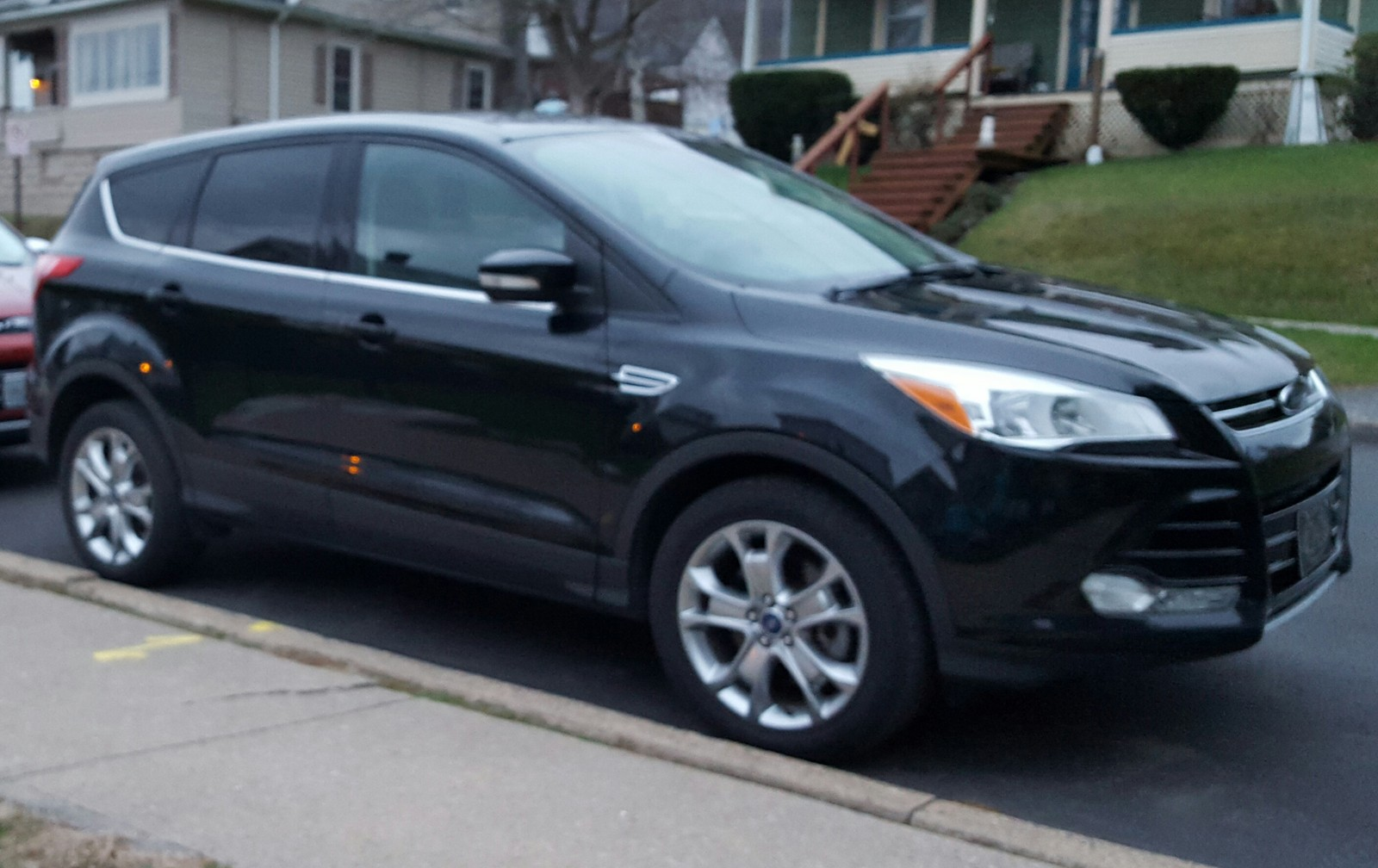 2013 tuxedo black ford escape sel picture mods upgrades