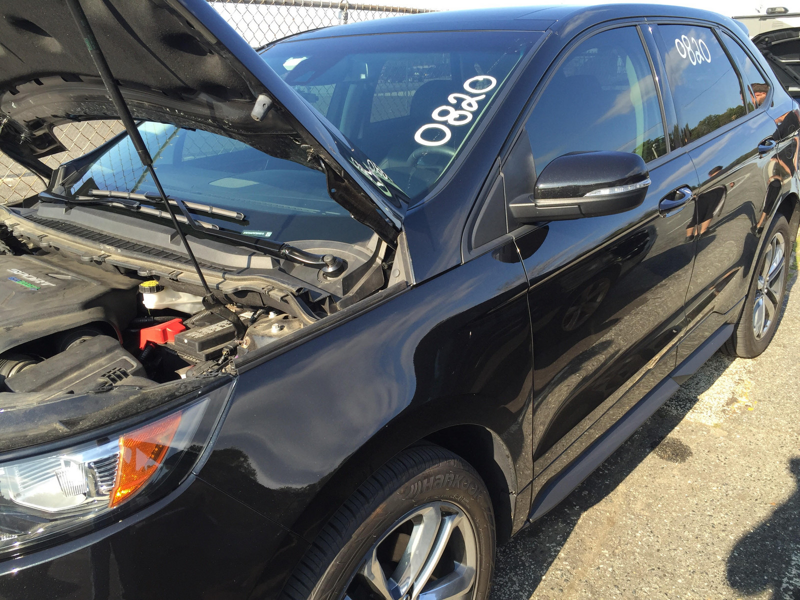 Black Ford Edge Sport Awd  Picture Mods Upgrades