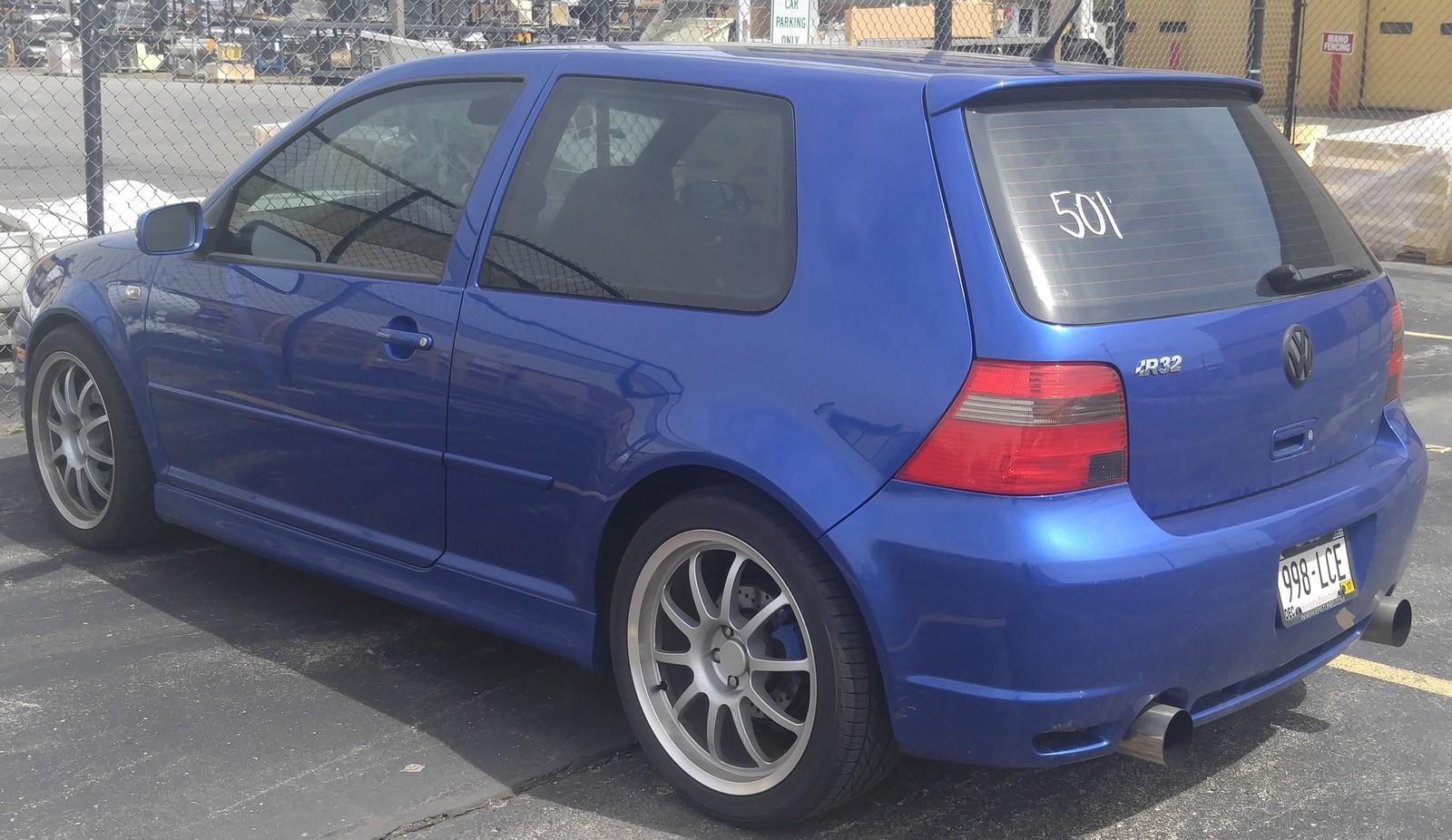 2004 Volkswagen Golf R32 1 4 Mile Trap Speeds 0 60 Dragtimes Com